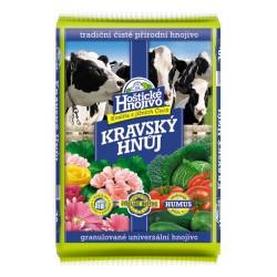 Hoštický kravský hnůj 10 kg