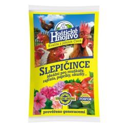 Hoštické hnojivo Slepičince - granulované 8 kg