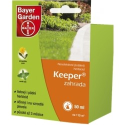 Keeper zahrada 50 ml
