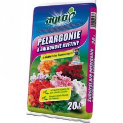 Agro Substrát pelargonie a balkonové květiny 20 l