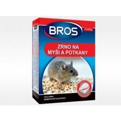 Rodenticid BROS Zrno na myši a potkany 6 x 20 g