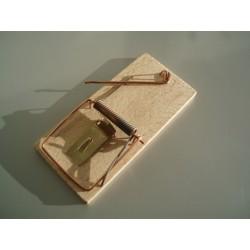 Past na myši - dřevěná
