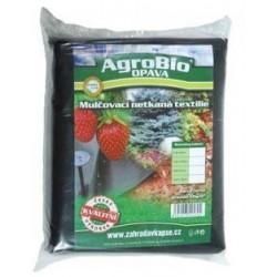 Černá netkaná textilie Agrobio