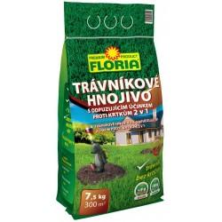 Floria Trávníkové hnojivo s odpuzujícím účinkem proti krtům