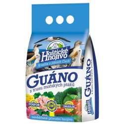 Hoštické hnojivo Guáno granulované