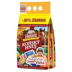 Hoštické hnojivo koňský hnůj Vaňův 2,5 kg + 30 % zdarma
