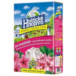Hoštické hnojivo na muškáty a jiné balkonové rostliny 1 kg