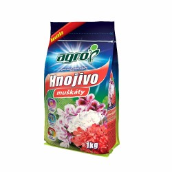 Agro Organo-minerální hnojivo na muškáty  1 kg