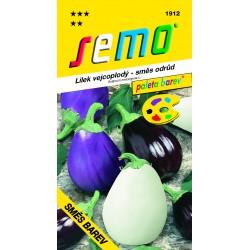 Lilek vejcoplodý - Směs barev